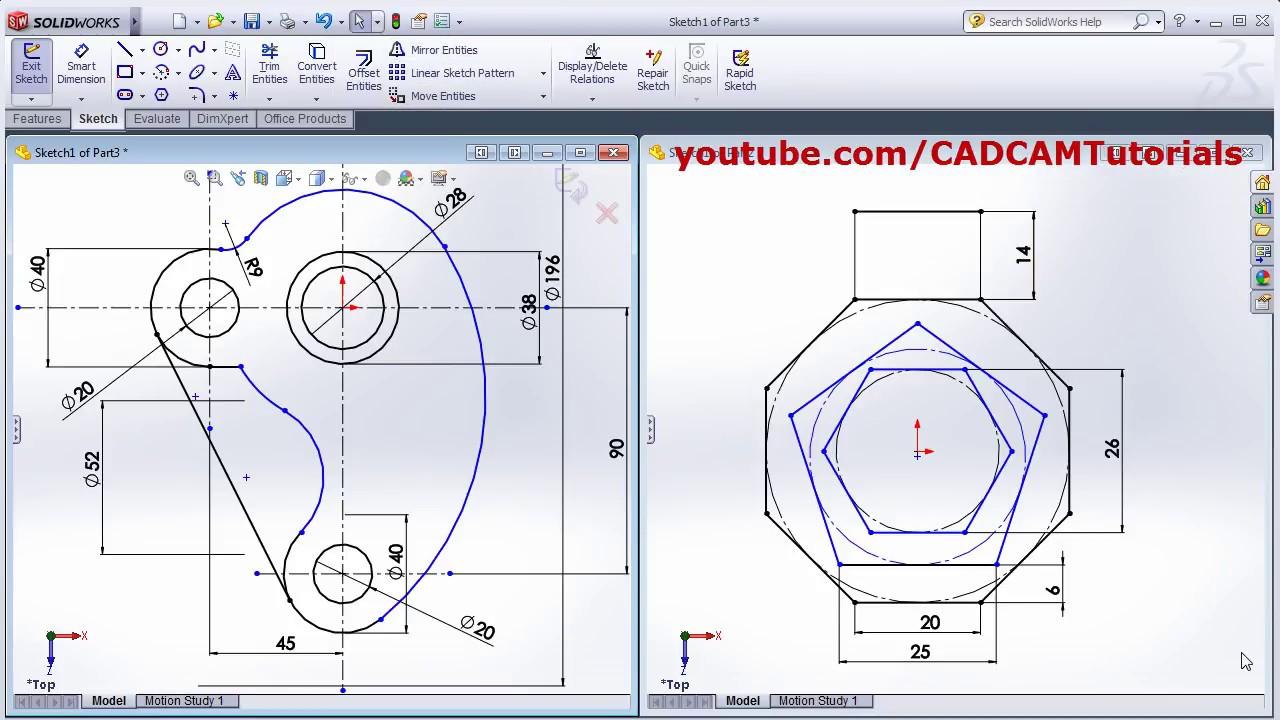 How to create simple sheet metal bend.