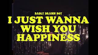 Badly Drawn Boy - I Just Wanna Wish You Happiness (Live Session)