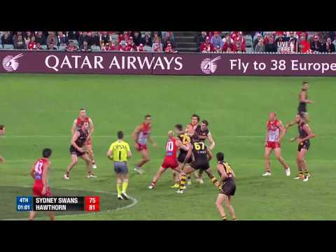 Last two minutes - Sydney v Hawthorn