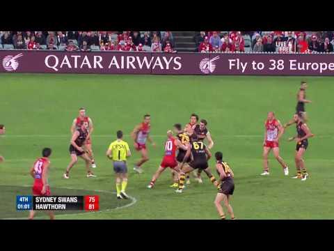 Last two minutes - Sydney v Hawthorn