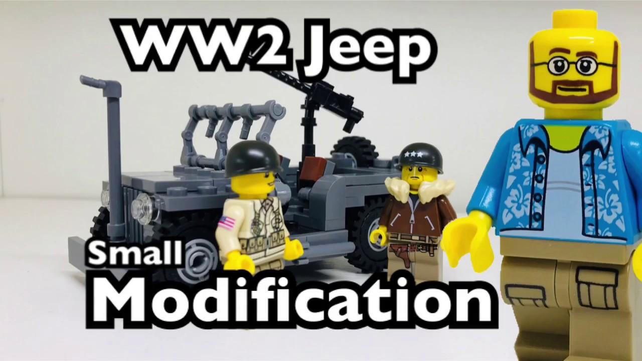 BrickMania WW2 Jeep Modification
