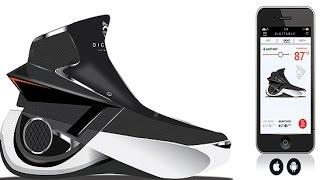 Будущее: Умные кроссовки Smartshoe с фитнес-трекером согреют ваши ноги в холодное время(Новинки: Умные кроссовки Smartshoe с фитнес-трекером Французская компания Digitsole продемонстрировала умные кросс..., 2016-09-10T05:03:25.000Z)
