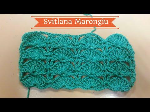 Punto Crochet All Uncinetto.Punto Fiorellini Bicolore Uncinetto Tutorial Crochet Katy