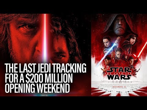 Thumbnail: Star Wars: The Last Jedi Tracking For $200 Million Opening Weekend