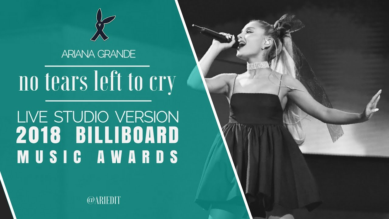 Ariana Grande No Tears Left To Cry Live Studio Version Billboard Jimmy Fallon Version