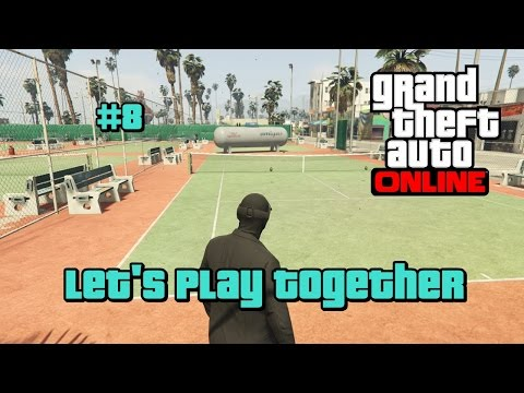 Granaten Tennis 2.0 #8 GTA 5 Online [PS4][German] Let's Play Together