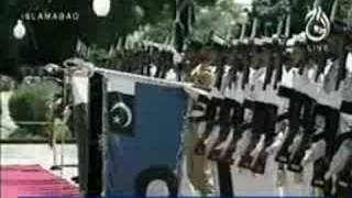 Guard of honour presented to President Zardari