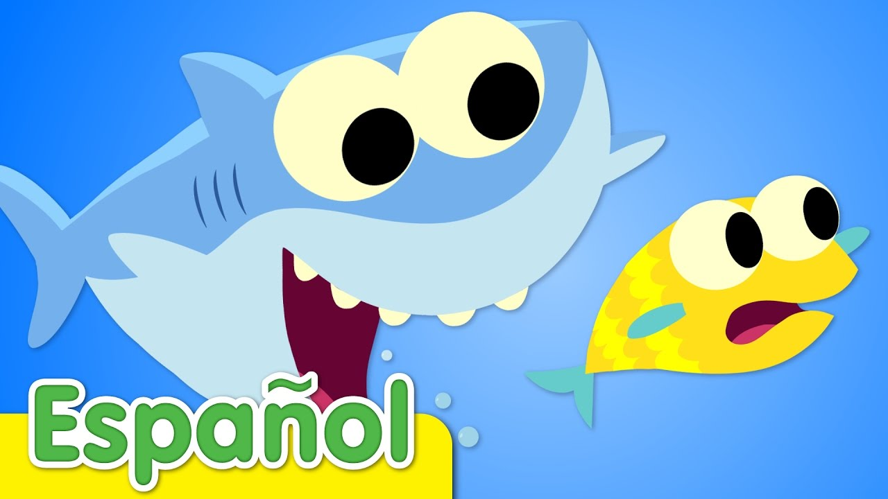 Bebe Tiburon Canciones Infantiles Super Simple Espanol Youtube
