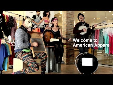Welcome to American Apparel: Closed for Band Practice