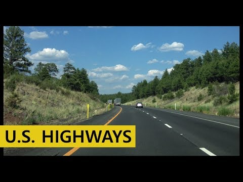 The US Highways Montage - USA