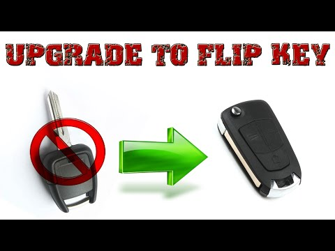 How To Upgrade To Flip Key: Opel Astra G