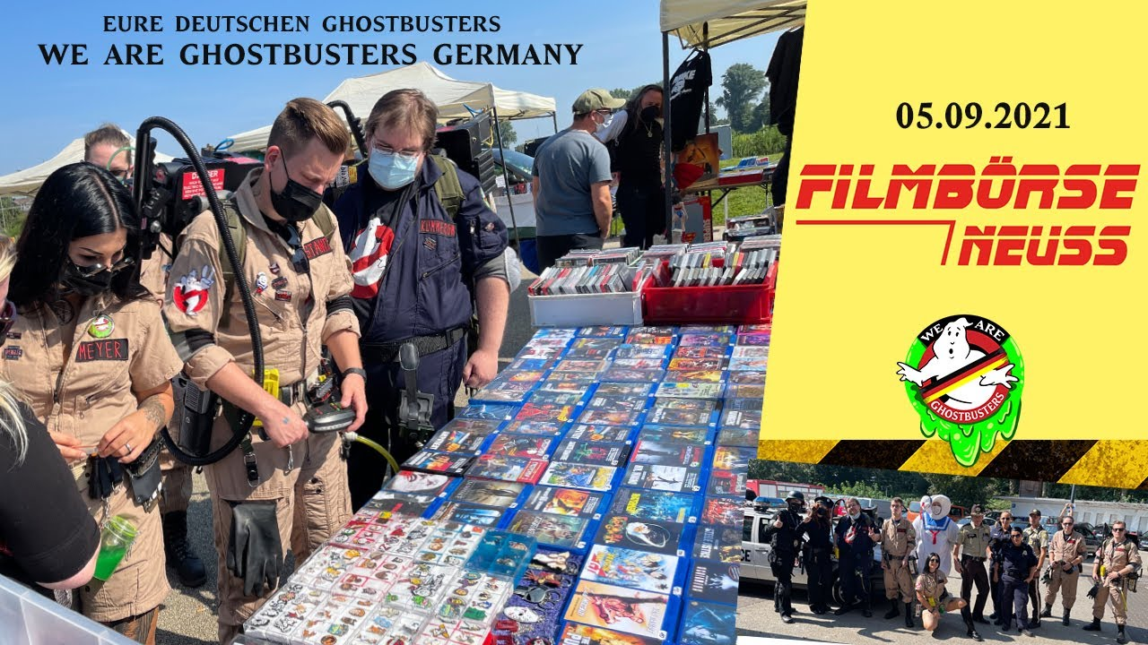 Filmbörse Neuss 05.09.2021 - We are Ghostbusters Germany - Deutschland