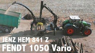 Fendt 1050 Vario mit JENZ Hacker HEM 841 Z