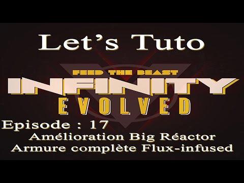 Let's Tuto sur FTB Infinity de A à Z : Episode 17 Armure Complète Flux-Infused