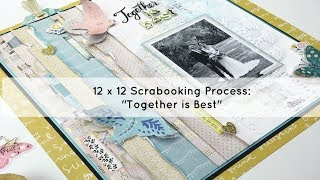 12x12 Scrapbooking Process Video: