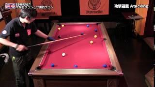 Web CUE'S イングリッシュ・エイト特設ページ http://www.billiards-cue...