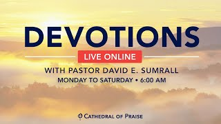 Devotions with Pastor Sumrall  - September 28 2020