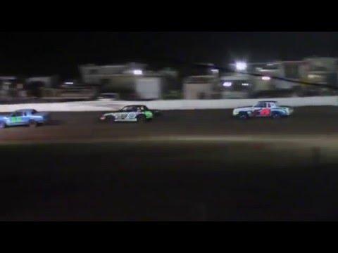 Armstrong Dumped @ Abilene Speedway