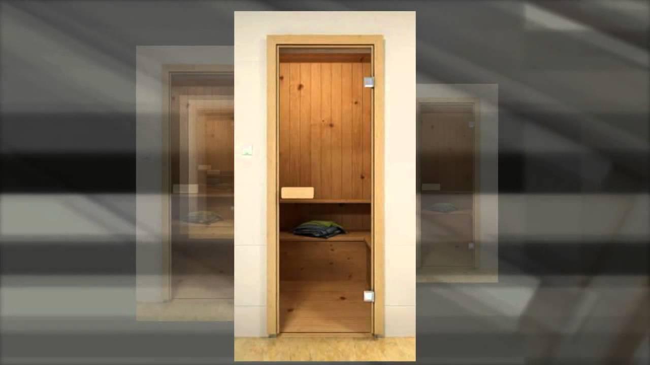 Стеклянные двери в душевую кабину. Петли. Ручка. Самара - YouTube