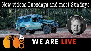 Baixar LIVE. 2019 plans, Australia trip, USA, USA vehicle build, Trans-Americas Expedition.