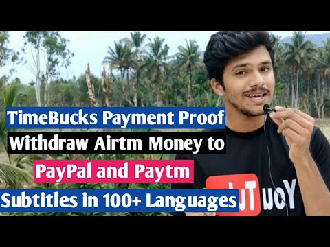 TimeBucks Payment - Receive TimeBucks Money In Paypal Using Airtm