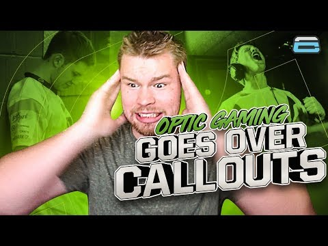 OPTIC GAMING GOES OVER CALLOUTS!! FUNNY MOMENTS! (COD: BO4)