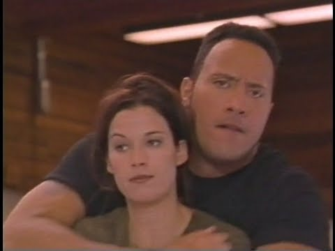Dwayne Johnson & Brooke Langton
