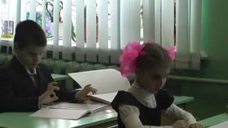 Открытый урок по русскому языку во 2 «Б» классе (обучение по системе Брайля)