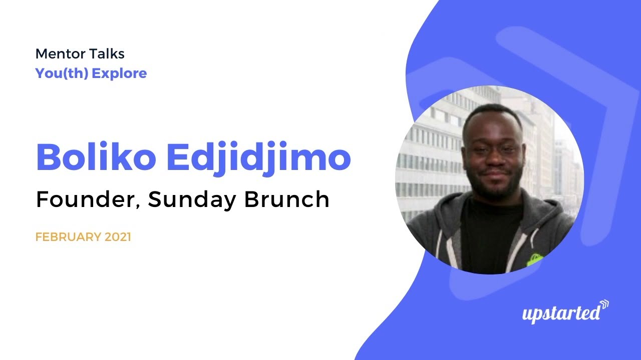 Mentor Talks: Boliko Edjidjimo, Founder at Sunday Brunch