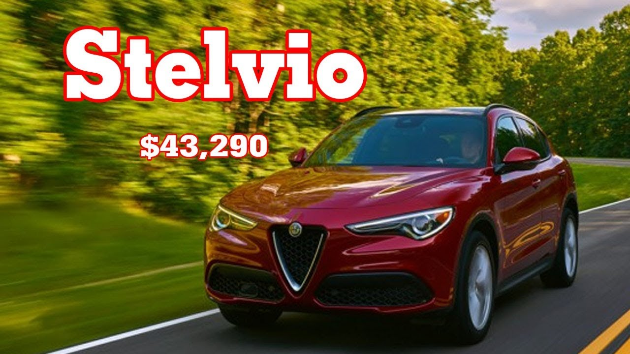 2019 Alfa Romeo Stelvio Q4 2019 Alfa Romeo Stelvio Nero Edizione