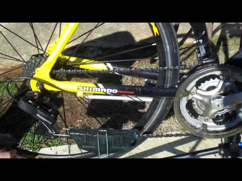 Cleaning The Chain And Components On My Gmc Denali Road Bike Youtube