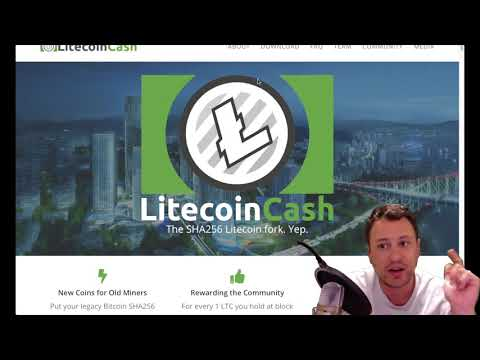 Crypto News- Litecoin Cash fork is coming, protect yourself and even if it is a scam you can't lose.
