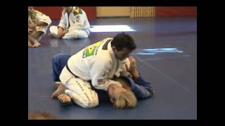 Pedro Sauer Demonstrates Shin Slide Mount Choke