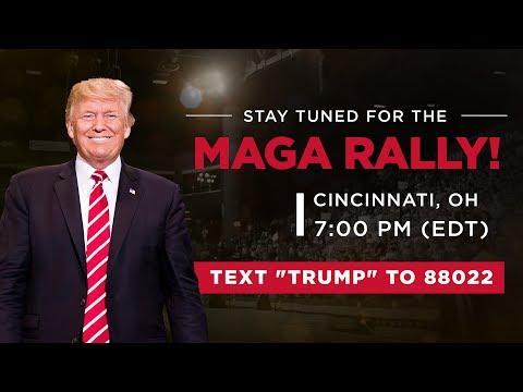 LIVE: President Trump In Cincinnati, OH