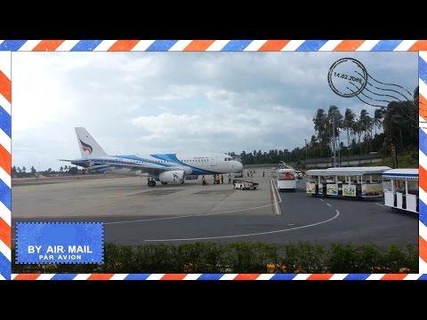 Bangkok Airways Airbus A319 arrives at Koh Samui Airport – HS-PPG