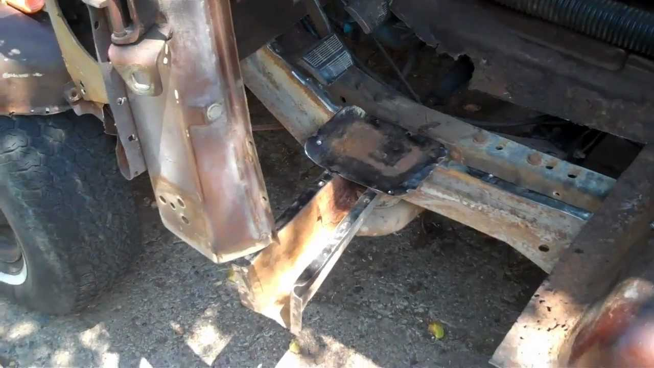 Part 1 73 87 C10 Rust Repair Welding Patch Panels Youtube