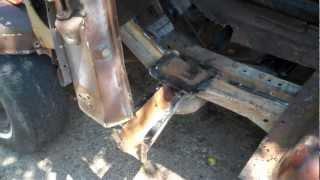 PART 1 73-87 C10 RUST REPAIR | Welding Chevy Patch Panels
