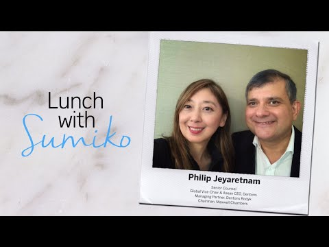 Philip Jeyaretnam | Lunch with Sumiko | The Straits Times