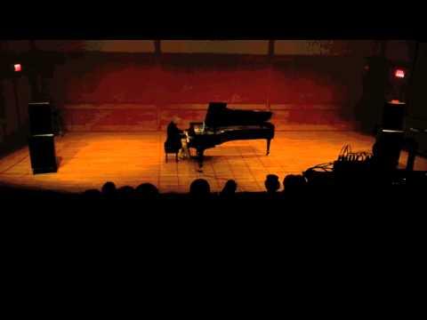 """Bargello"" (D. Semegen) performed with piano improvisation"
