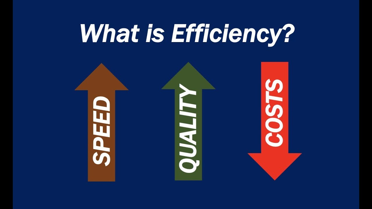 What Is Efficiency >> What Is Efficiency Definition And Meaning Market Business News