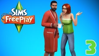 """Getting Romantic!! """"Sims FreePlay"""" Ep.3"""