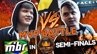 #NAVIVLOG: s1mple vs electronic  MVP battle, MIBR in Major semi-finals thumbnail
