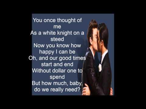 Daydream Believer /Glee Version (with Lyrics)