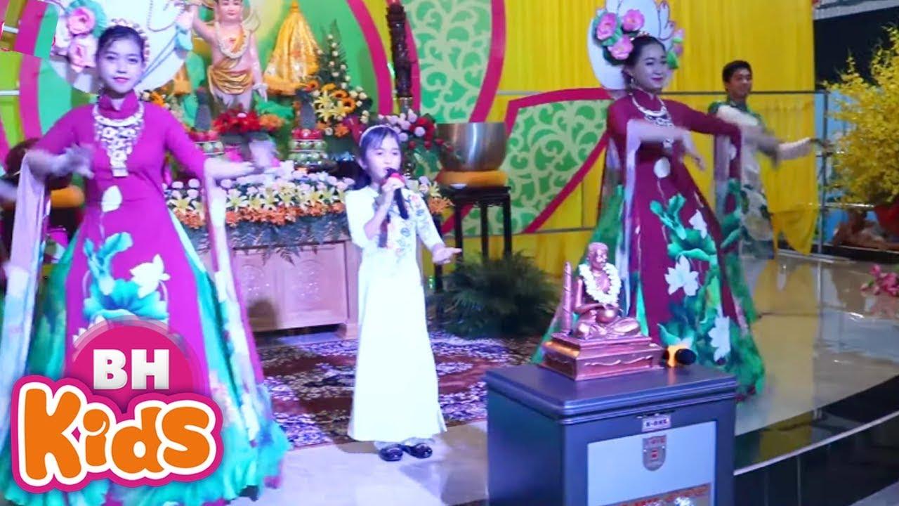 Nhịp Vui Khánh Đản - Bé Tú Anh hát mừng Phật Đản cực hay