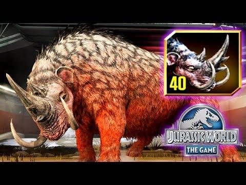 Mammotherium Hybrid Cenozoic Max Level 40 Jurassic World Youtube