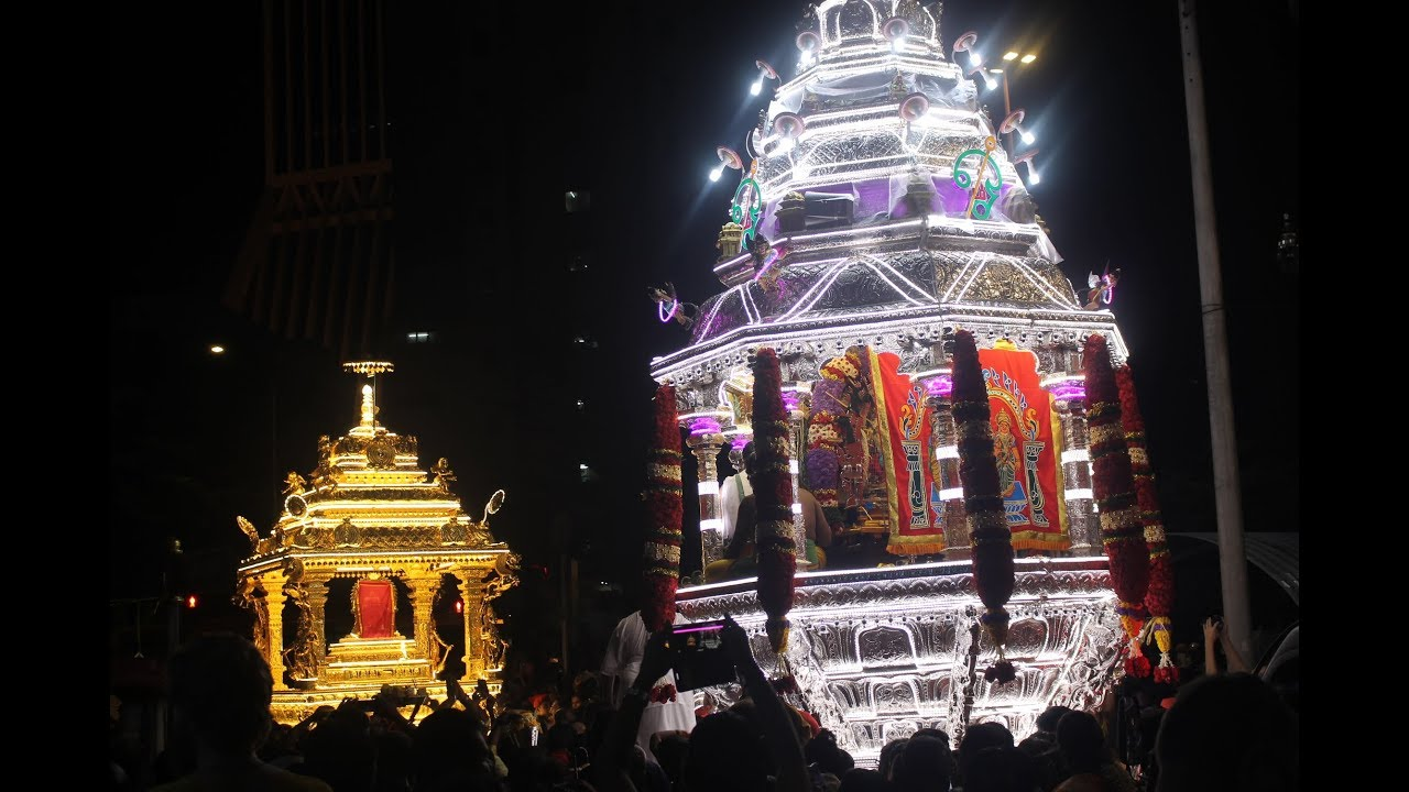 Image result for led chariot thaipusam batu caves
