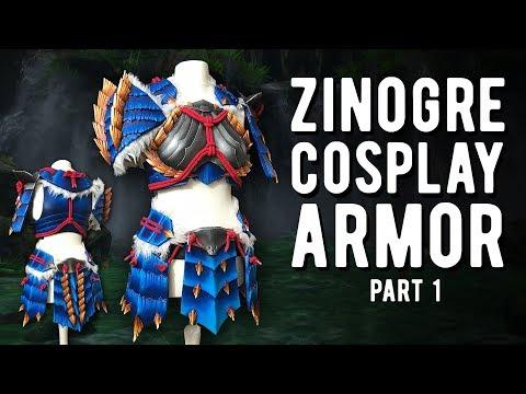 Rathalos armor cosplay tutorial