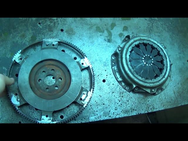 Теория ДВС: Облегчённый маховик ВАЗ-21083 3.3 кг