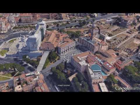 Piazza del Campidoglio in Rome. Free guide.