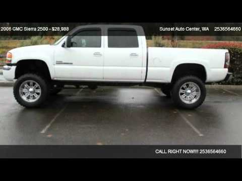 2006 GMC Sierra 2500 2500 4x4 SLE2 Lifted - for sale in ...